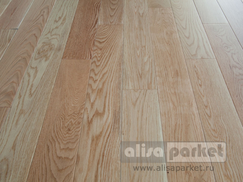Magestik Floor Дуб натур без покрытия 125 мм