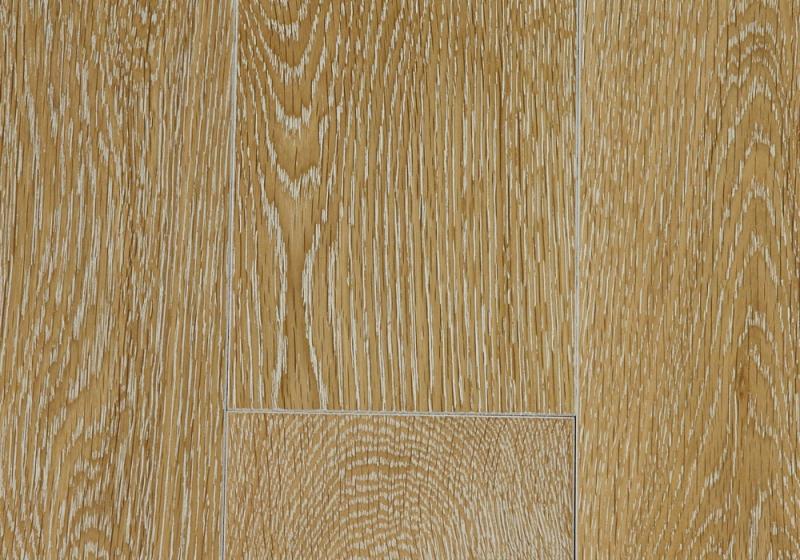 Magestik Floor Дуб беленый брашированный 125 мм